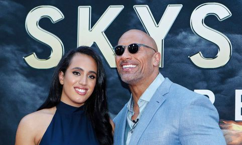 "Dwayne 'The Rock' Johnson sobre su hija: ""Es un honor que quiera seguir mis pasos"""