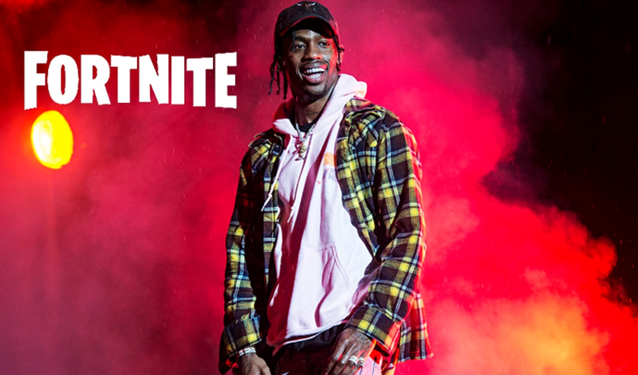 Fortnite anuncia el evento Astronomical con Travis Scott