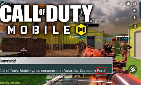 Call of Duty Mobile ya está disponible en Perú, Canada y Australia. Descárgalo gratis aquí.