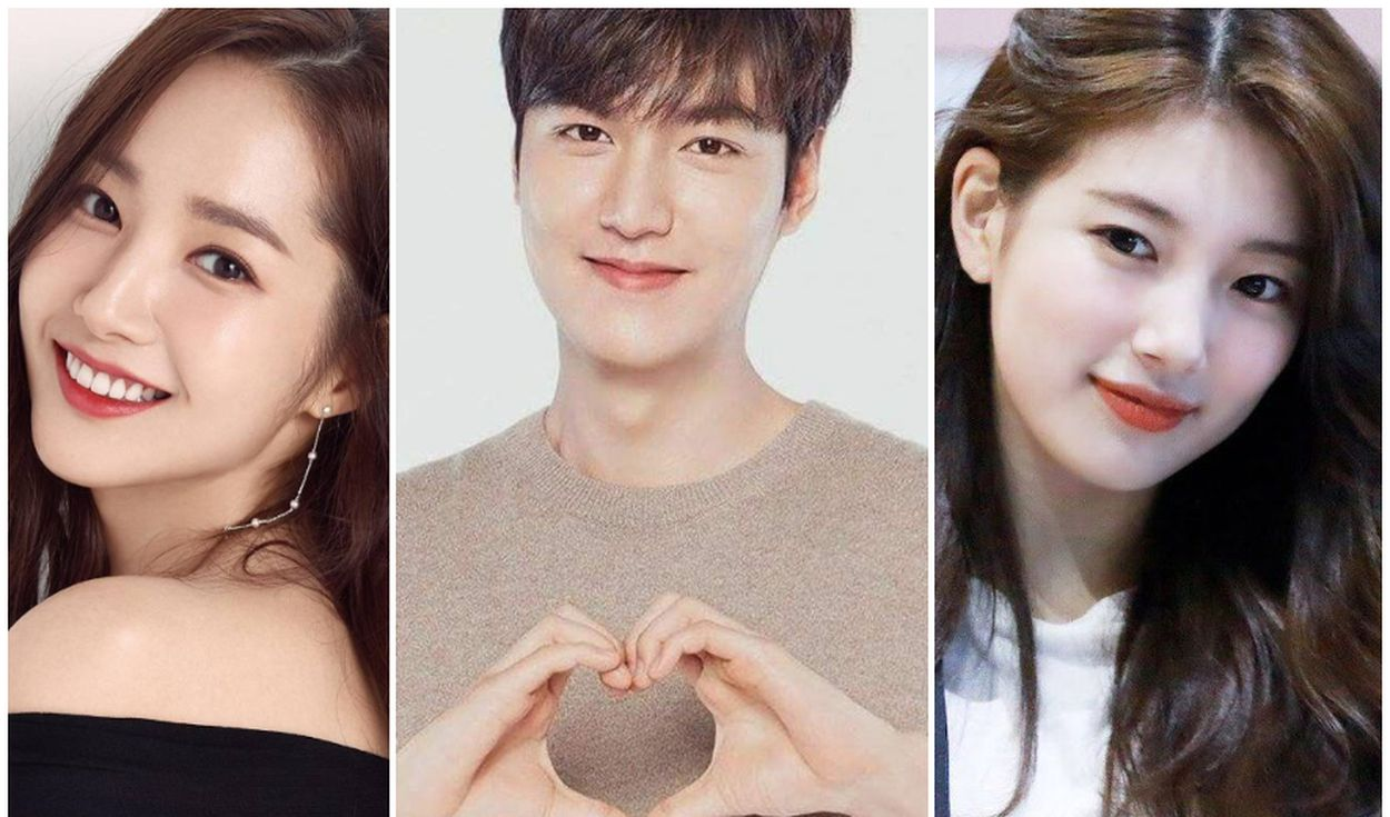 Conoce a las ex novias de Lee Min Ho. Créditos: Composición Namoo Actors / MYM Entertainment /  Soop Ent.