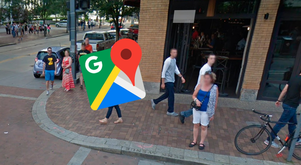 Google Maps: The young man realizes that he was captured by ...