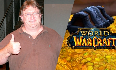 Gabe Newell, director de Valve, creó función en Steam gracias al 'gold farming' en World of Warcraft.