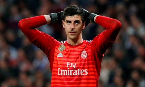 Courtois lamentó no haber anotado ante el Real Betis.