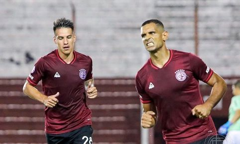 Lanús viene empatando 1-1 con Newell's Old Boys. Foto: Twitter