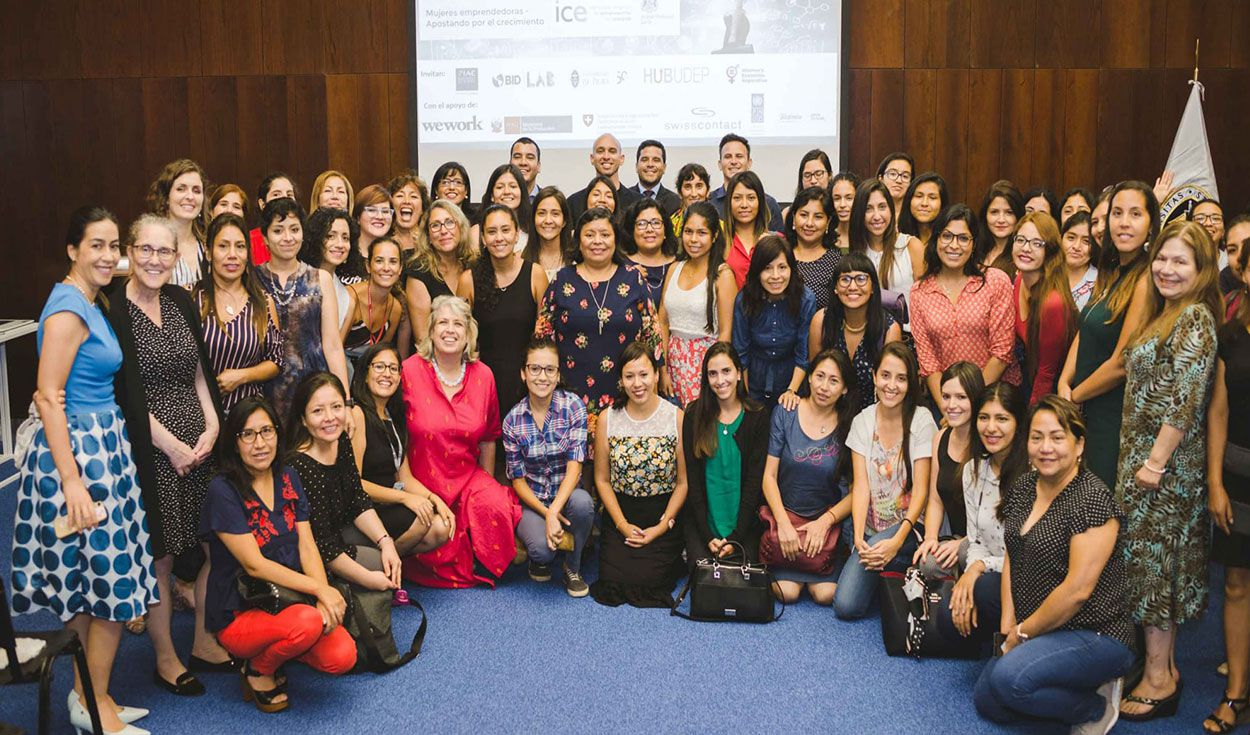 "El programa internacional Women in STEM Entrepreneurship (WISE), a través del curso virtual gratuito ""Emprendimiento en STEM"", brindará las herramientas necesarias a todas aquellas mujeres estudiantes y profesionales relacionadas a carreras STEM. Foto: WISE"