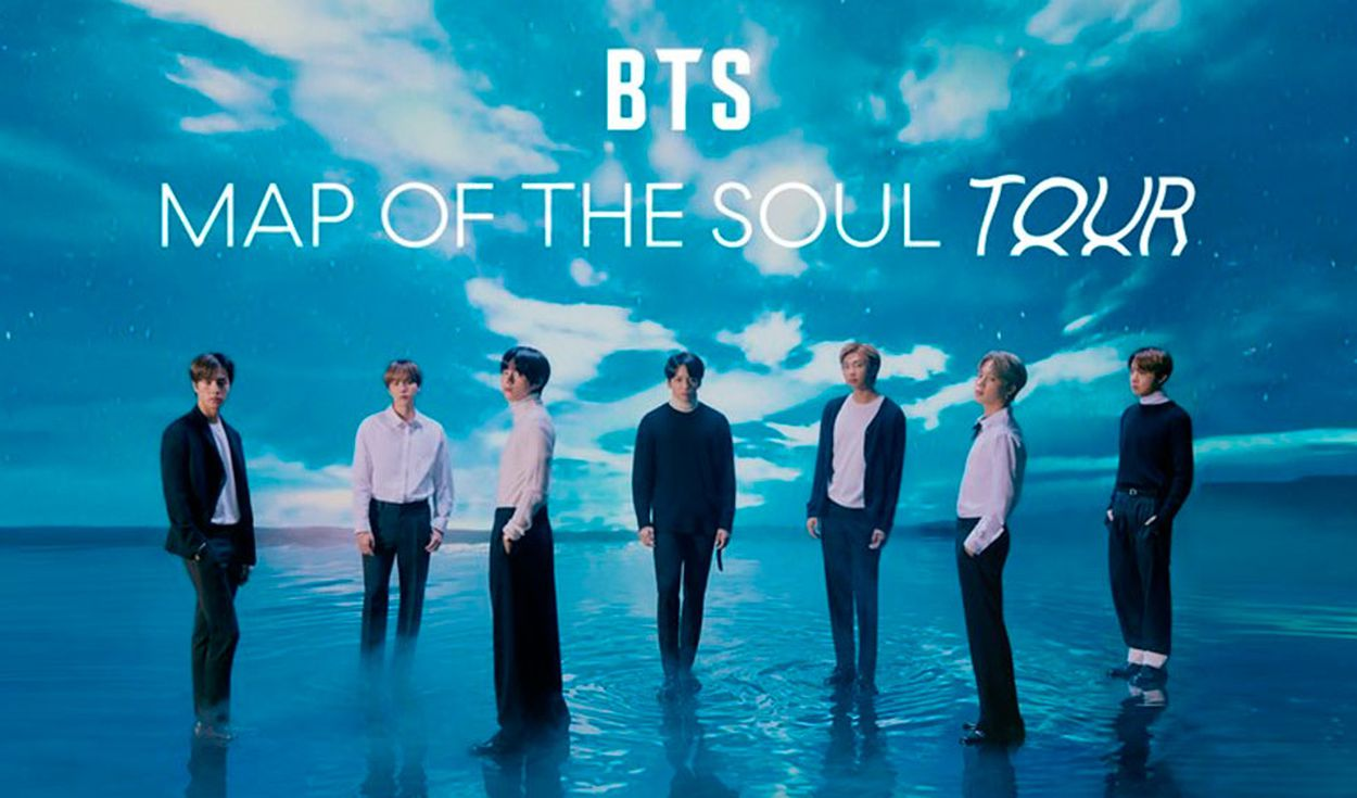 BTS suspenderá temporalmente la gira mundial 'Map of the Soul'