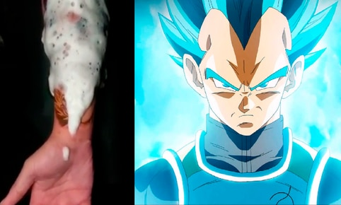 Facebook viral: fan de Dragon Ball Super se hace tatuaje 'ultra realista' de Vegeta y emociona a fans
