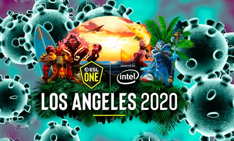 La Major ESL One Los Angeles 2020 de Dota 2 es suspendida para evitar contagio del coronavirus.