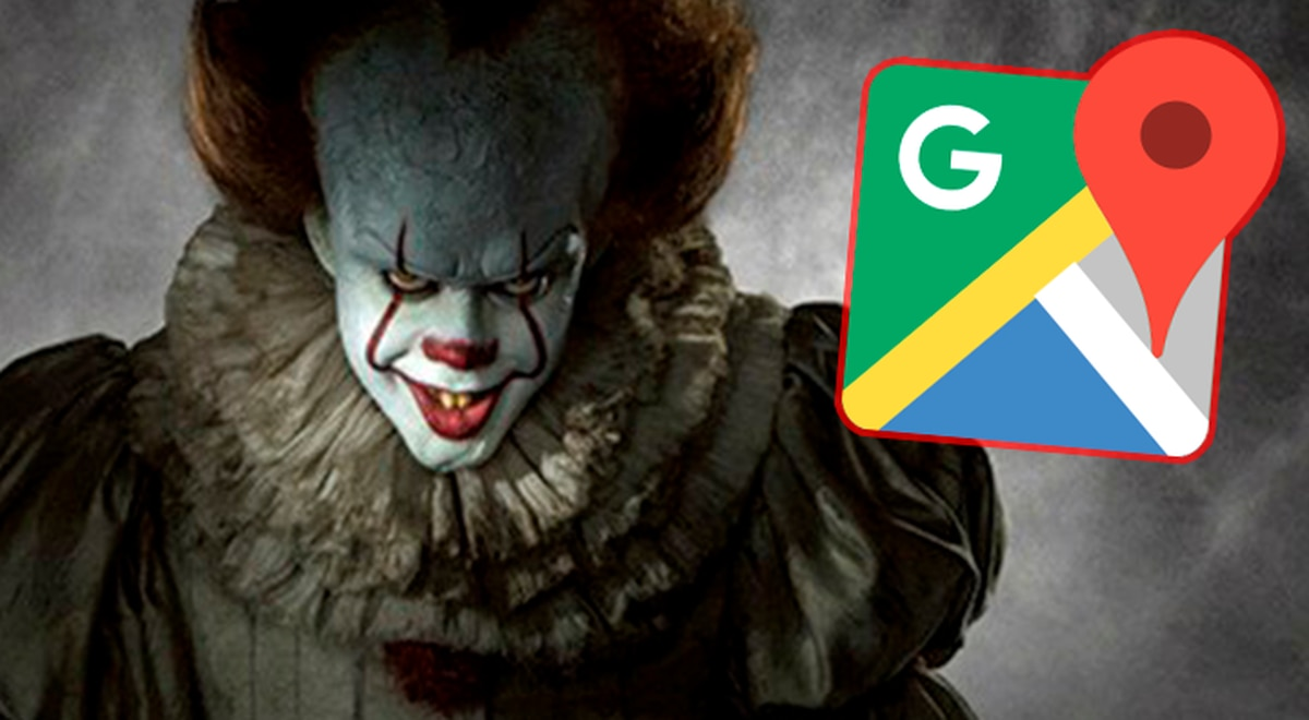 Did Google Maps Capture Pennywise The Evil Clown Of It Here The