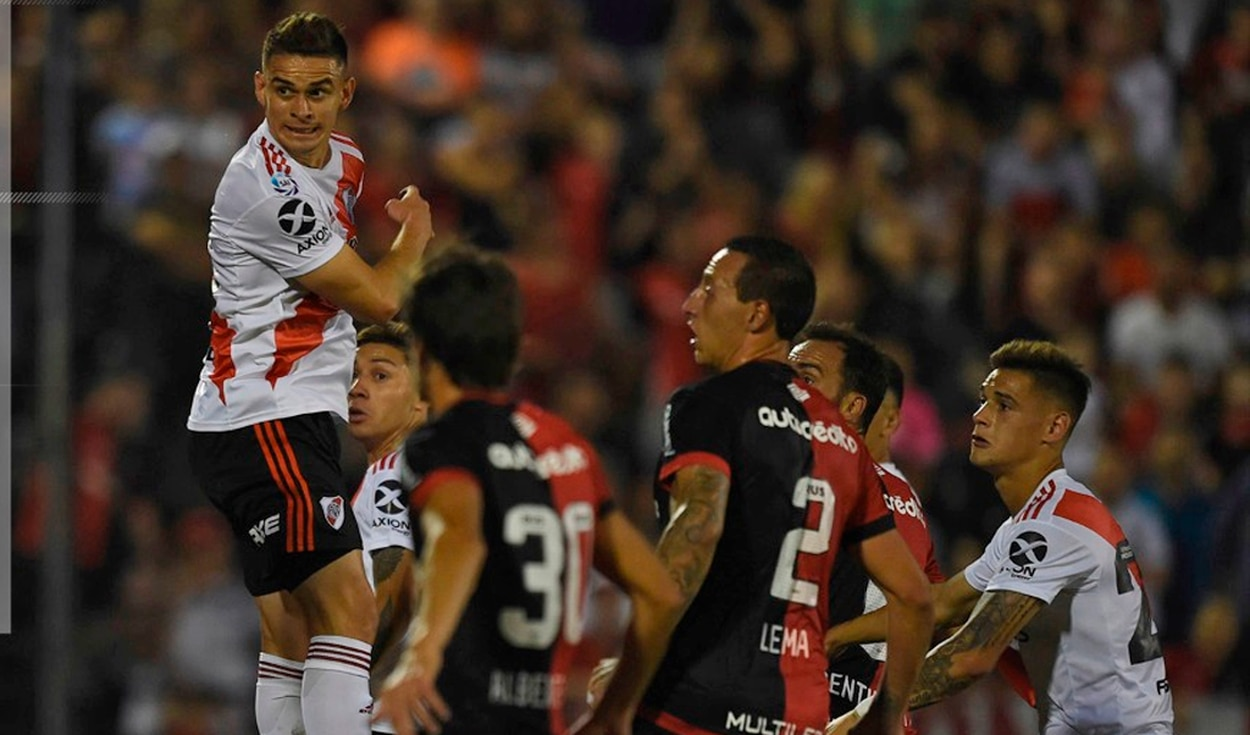 River Plate venció 3-2 a Newell's Old Boys por la fecha 15 de la Superliga Argentina 2019-2020. | Foto: @RiverPlate