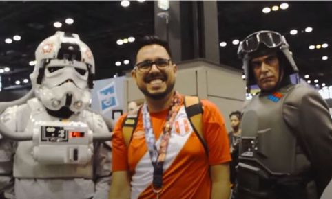 Dookumental: una historia de Star Wars Celebration Chicago. Fuente: captura.