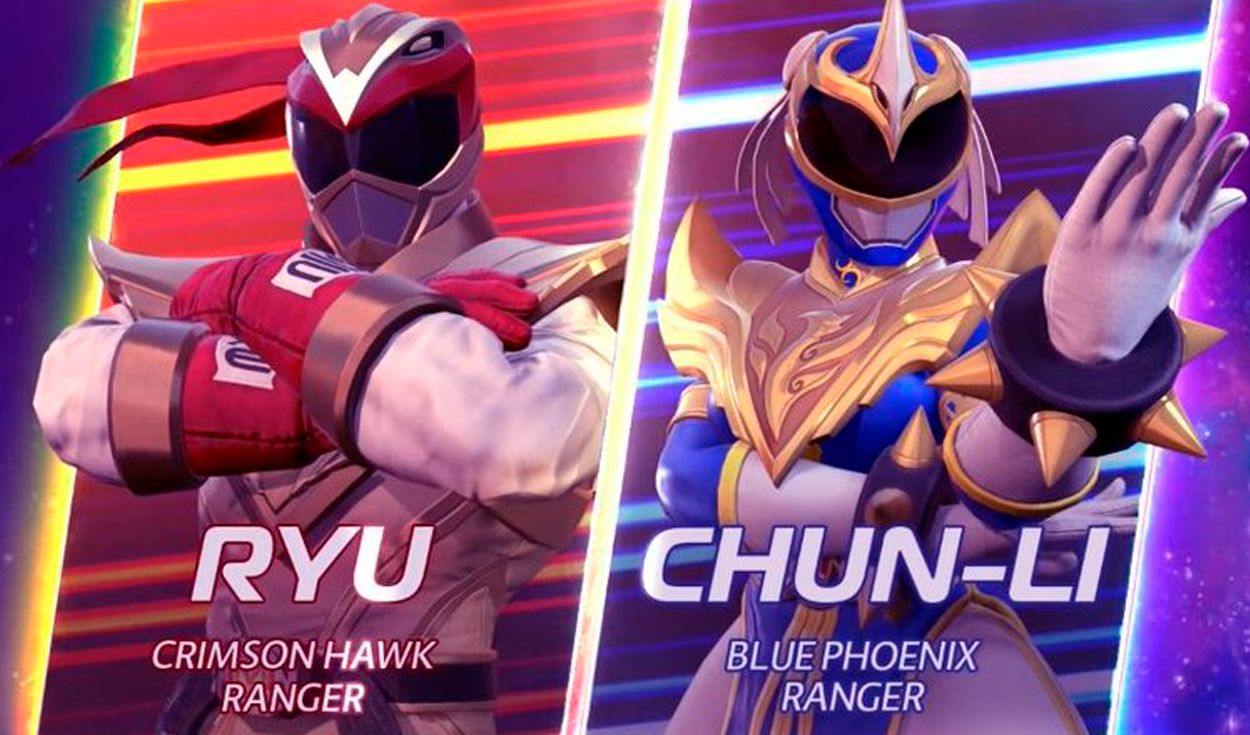 El DLC de Street Fighter se estrenará en Power Rangers: Battle for the Grid el próximo 25 de mayo. Foto captura: YouTube