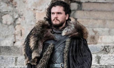 Al final de la temporada, Jon Snow se va con los salvajes al norte. Foto: Captura