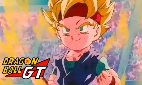 Dragon Ball GT muestra a Goku Jr. Créditos: Composición