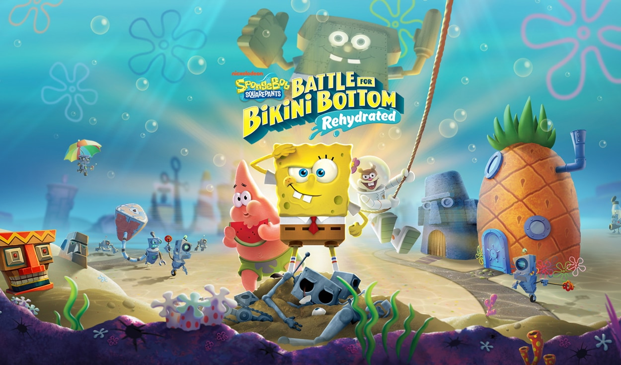 Ya se puede reservar SpongeBob SquarePants: Battle for Bikini Bottom - Rehydrated desde App Store y Play Store. Foto: HandyGames