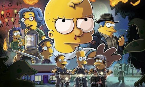 Los Simpson parodian a Stranger Things