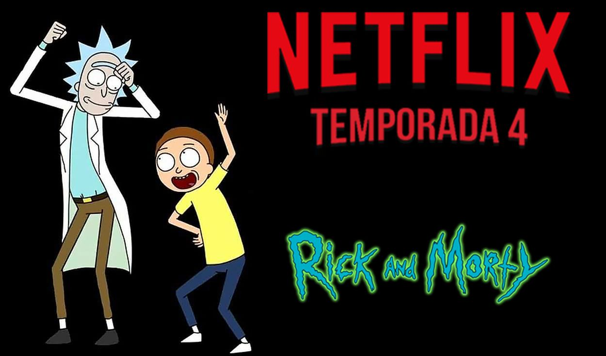 La temporada 4 parte 2 de Rick y Morty llega a popular servicio de streaming. Créditos: Netflix