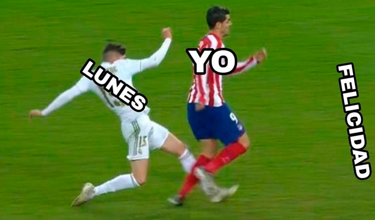 Real Madrid vs Atlético Madrid: memes por la final Supercopa de España. Foto Facebook