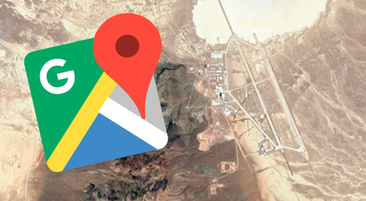 Google Maps Try To Visit Area 51 Without Imagining That This