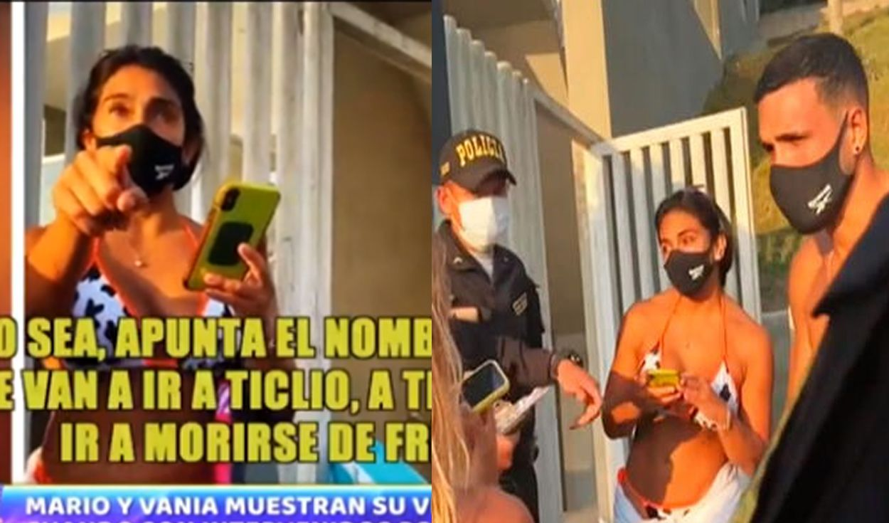 Los influencers incumplían con la cuarentena obligatoria. Foto: capturas ATV