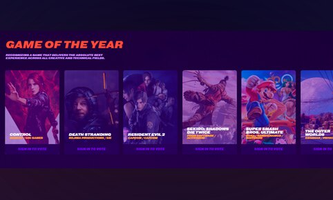 Nominados al juego del año en The Game Awards 2019.