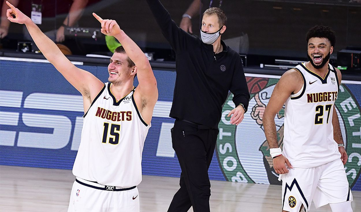 Denver Nuggets venció 4-3 en la serie a Los Angeles Clippers por los NBA Playoffs 2020. Foto: AFP