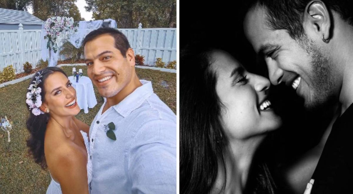 Ernesto Jiménez and Antonella Bacco got married in the United States