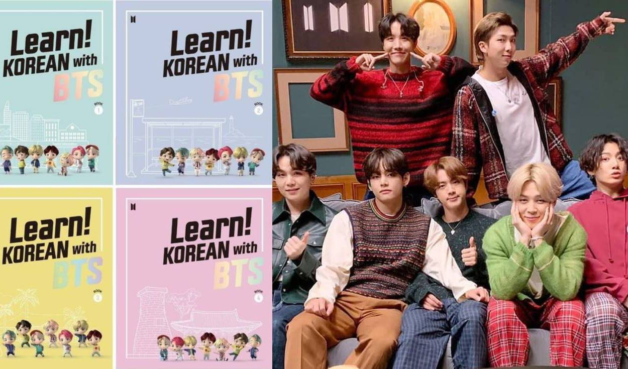 Learn! Korean with BTS fue desarrollada en 2020 por la Korean Foundation y Big Hit Edu. Foto: composición LR / Big Hit