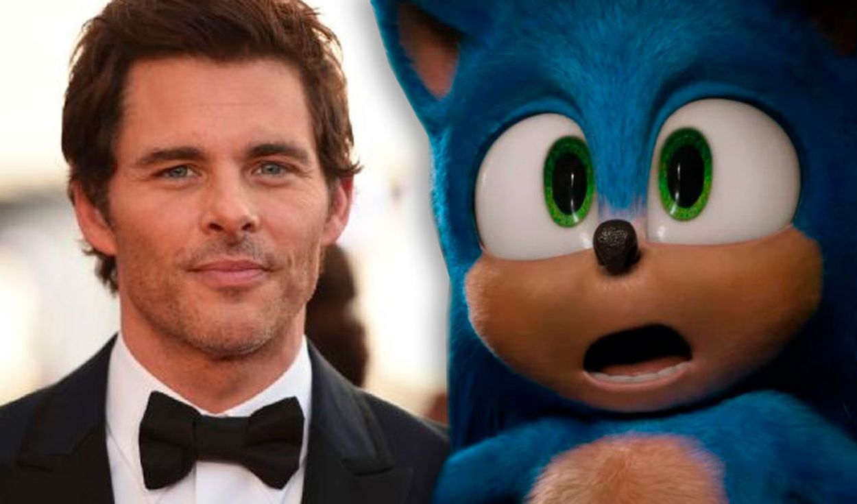 James Marsden comenta una posible secuela de Sonic. Créditos: composición