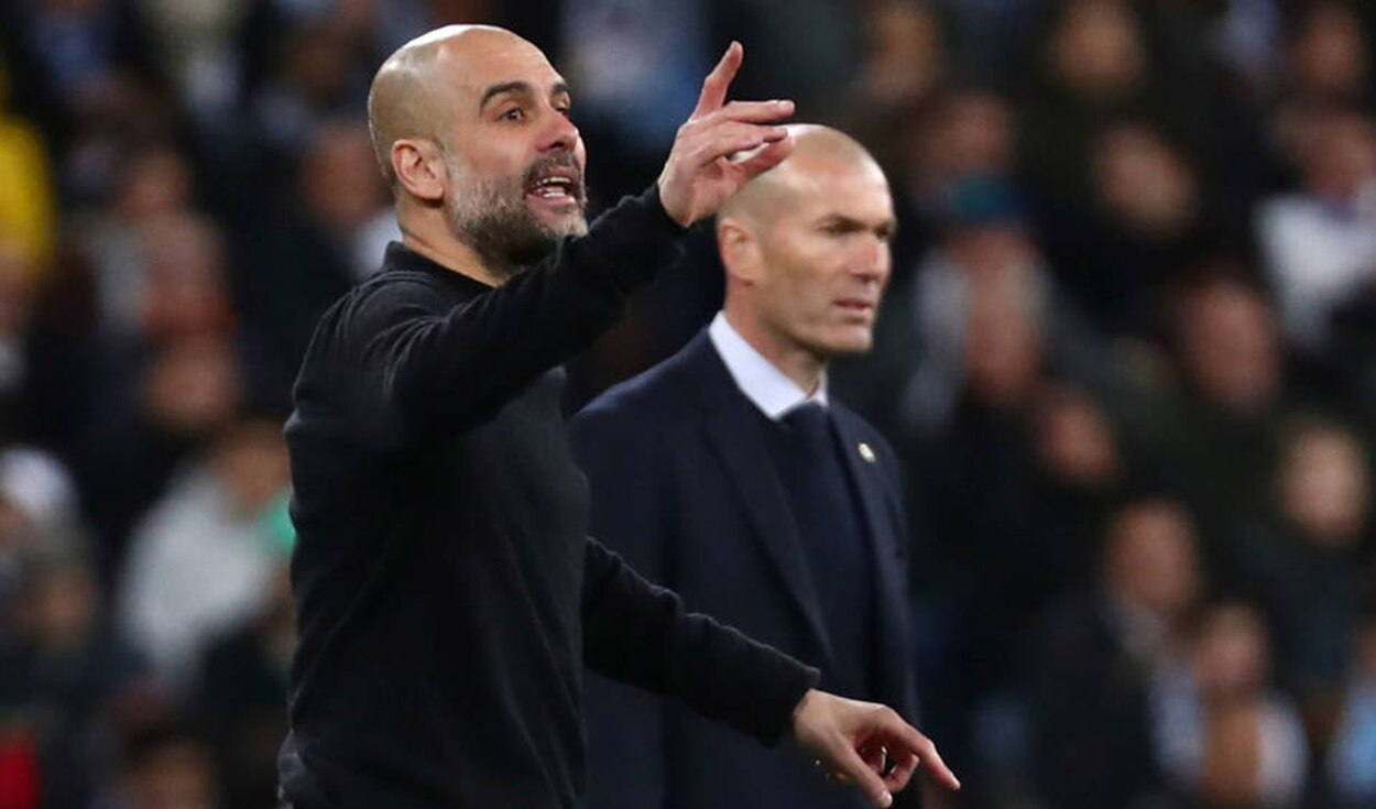 Pep Guardiola se refirió al Real Madrid vs Manchester City. | Foto: EFE