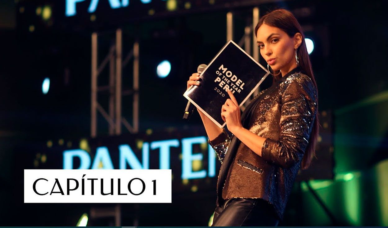 Natalie Vértiz presentó a las diez finalistas para convertirse en Model of the Year Perú 2020. Crédito: captura YouTube MTY2020