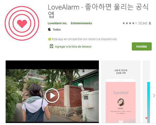 Love Alarm para Android