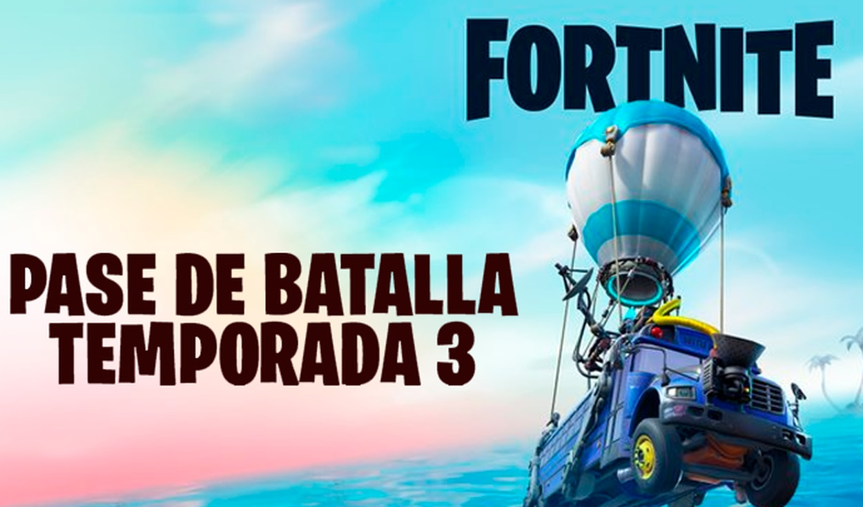 PlayStation Store filtra primera imagen de Fortnite temporada 3.