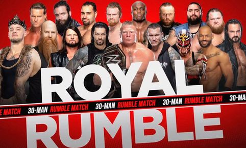 Sigue AQUÍ EN VIVO la Batalla Real de 30 luchadores del WWE Royal Rumble 2020. Foto: WWE
